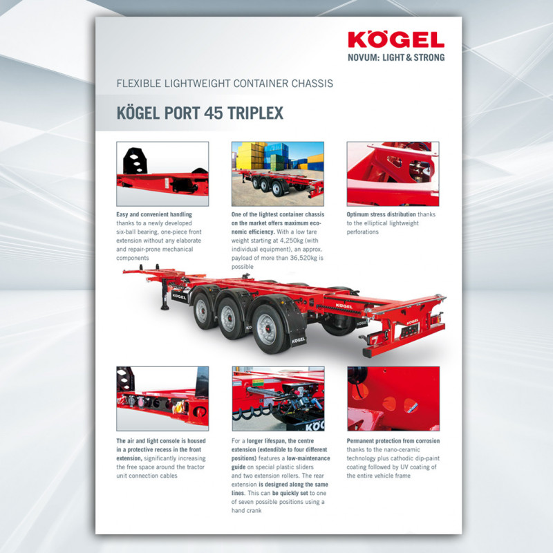Kögel Port 45 Triplex