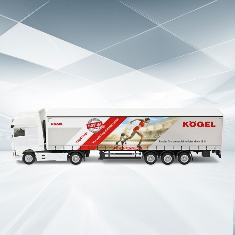Modell Kögel Cargo MB Actros Gigaspace