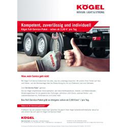 Campaign flyer Full-Service (DE / EN)