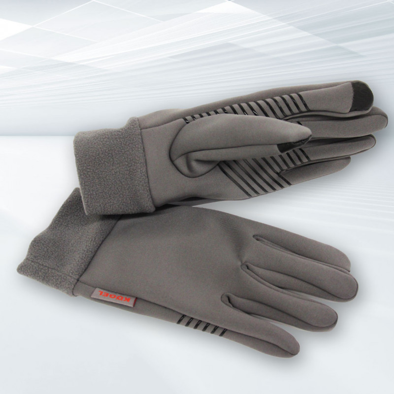Softshell - Handschuhe dunkelgrau (2020)
